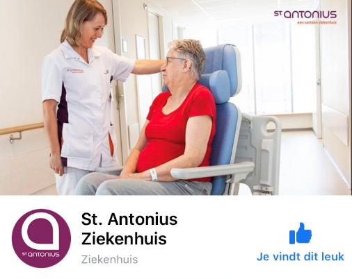 Facebookpagina St. Antonius