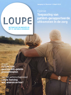 Cover Loupe uitgave 1, 2019